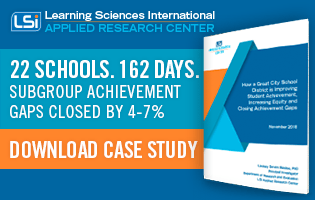 22 Schools. 162 Days. Subgroup achievement gaps closed by 4-7%. Download the case study