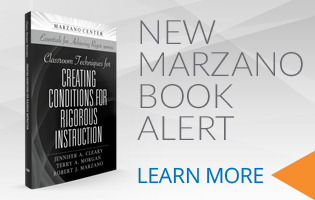 LSI Marzano Center – Robert J. Marzano New Book – Classroom Techniques for Creating Conditions for Rigorous Instruction
